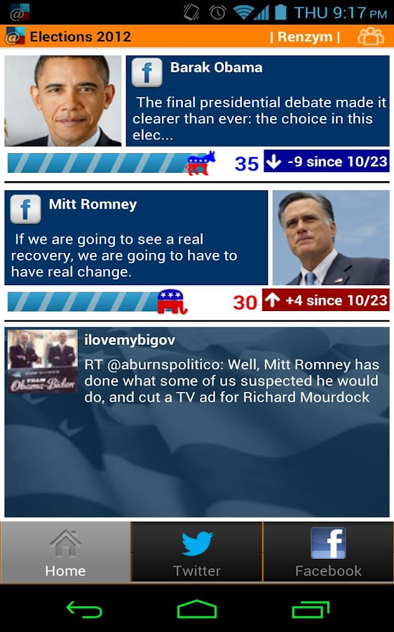 @Elections2012- screenshot