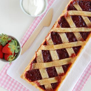 Strawberry Crostata