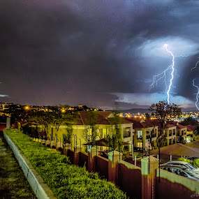 Electric Lightning Orchestra by Alexius van der Westhuizen - Landscapes Weather ( lightning, symphony, electric storms,  )