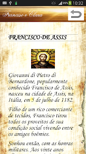 Francisco e Clara de Assis- screenshot thumbnail