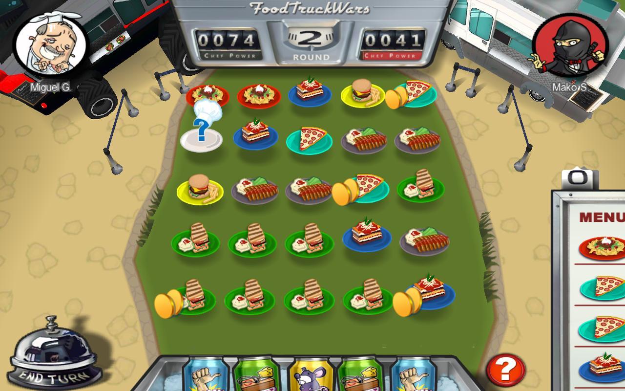 Order Up!! Food Truck Wars- screenshot
