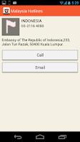 Screenshot of Malaysia Hotlines