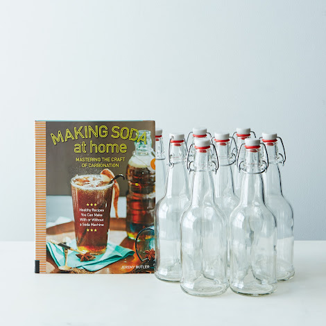 Making Soda at Home & 8 Swing Top Bottles