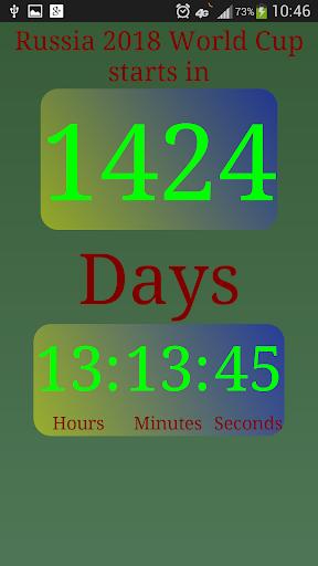Russia 2018 Countdown