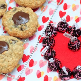 Oatmeal Chocolate Chip Truffle Blossom Cookies