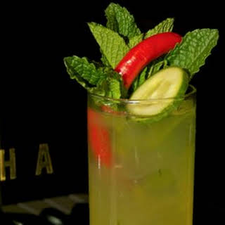 Spicy Dame Cocktail.
