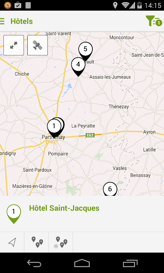 Pays de Gatine Tour- screenshot