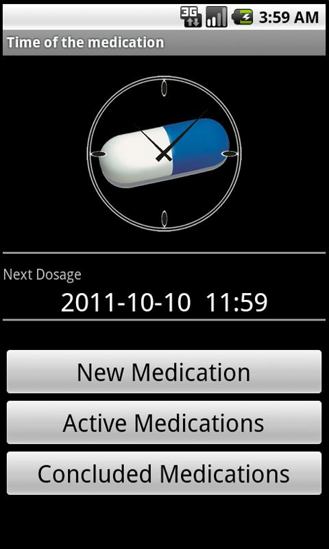 Time of the Medication- screenshot