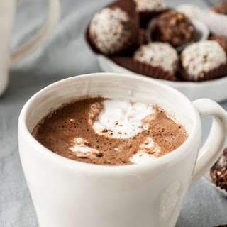 Mexican Hot Chocolate with Coconut Whipped Cream