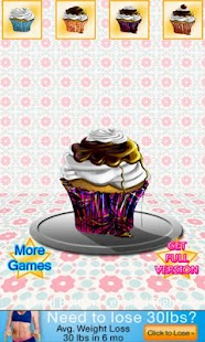 Pretty Cupcake Maker Lite - screenshot thumbnail