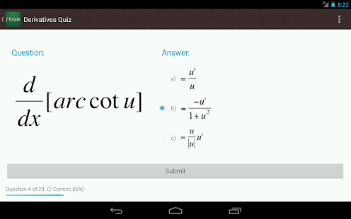 Derivative and Integral Rules - screenshot thumbnail