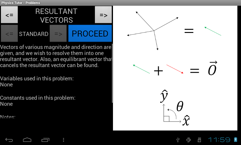 Physics Tutor - screenshot