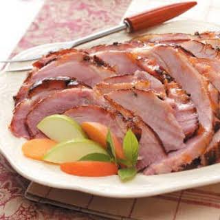 Apricot Baked Ham.
