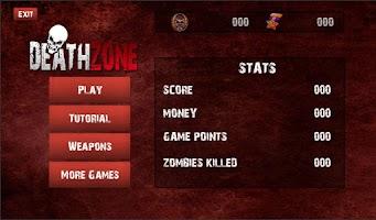 Screenshot of Death Shot Zombies