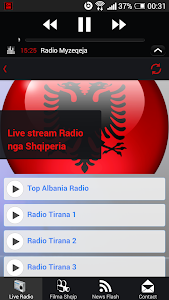 Albanian Live Radio - Lite screenshot 1