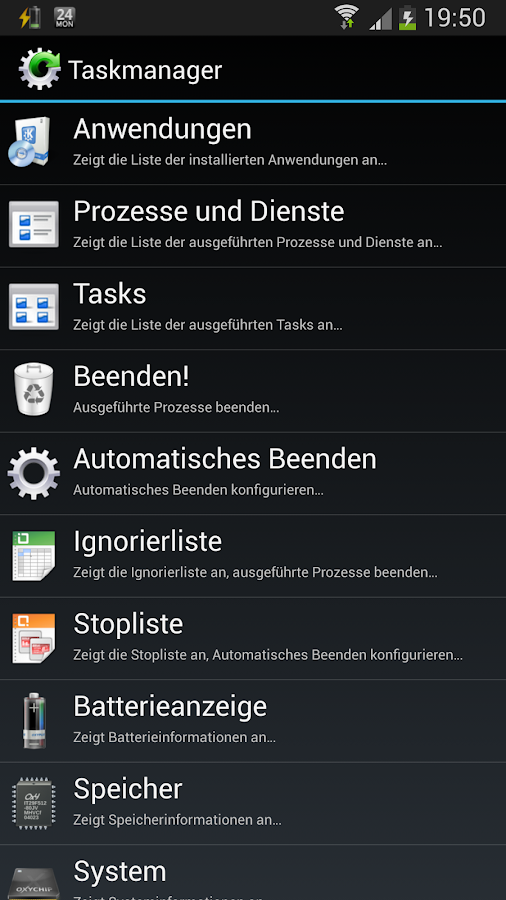 Task Manager- screenshot