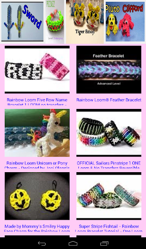 【免費媒體與影片App】Rainbow Loom New Designs-APP點子