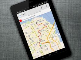 Screenshot of Mileage vehicle GPS Tracker