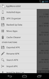 AppWererabbit Backup Screenshot 2