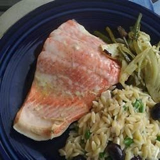 Dill Poached Salmon