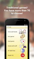 Screenshot of Drinking games