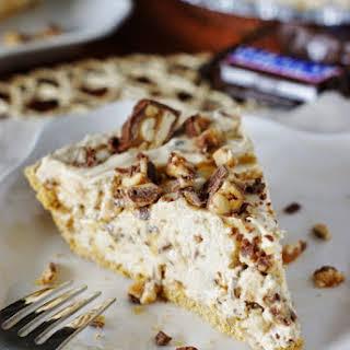 No-Bake Snicker Bar Pie.