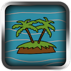 Treasure Island LCD Retro icon