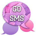 GO SMS - Glittery Flowers icon