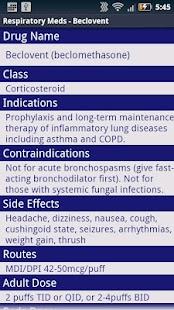 玩免費醫療APP|下載Respiratory Meds Demo app不用錢|硬是要APP