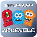 Little Cute Monsters Free logo