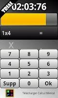 Screenshot of Mental arithmetic trial