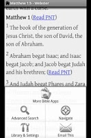 Screenshot of Mega Bibles Plus