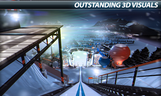Super Ski Jump - Winter Rush - screenshot thumbnail