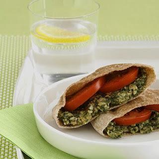 Chickpea and Spinach Spread Recipe