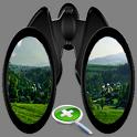 Binoculars Zoomer Tool icon
