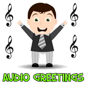 Birthday audio greeting