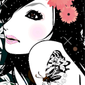 Glitter Girl Live Wallpaper icon