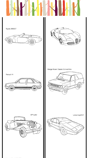 Cars Coloring Game Vehicles