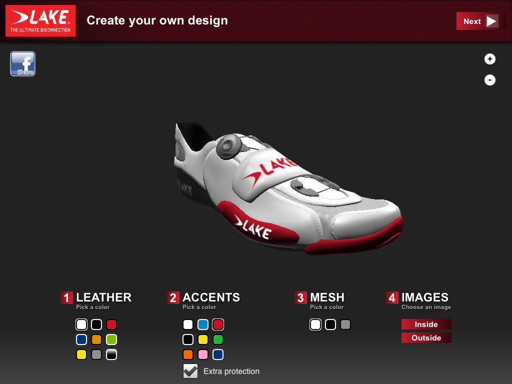 Lake Shoe Designer- screenshot