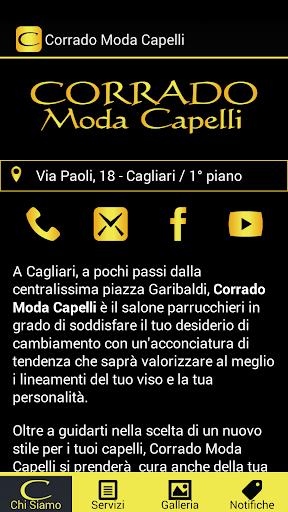 Corrado Moda Capelli Cagliari