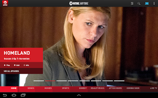 Screenshot of Showtime Anytime