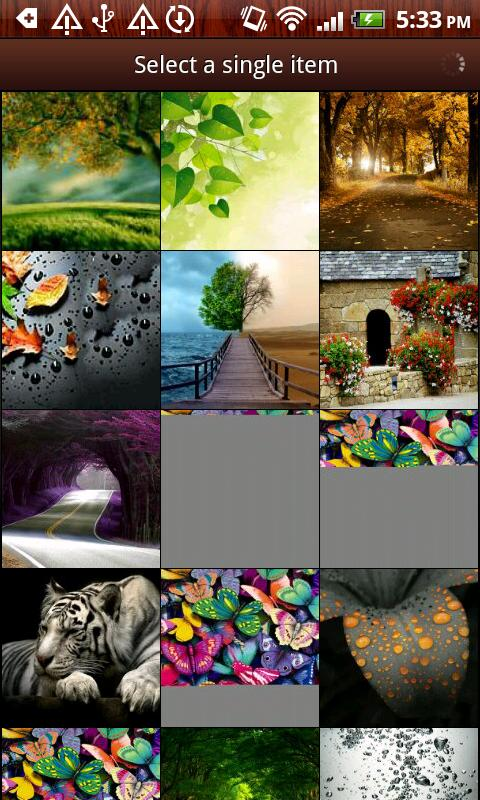 Unlimited Picture Puzzle- screenshot