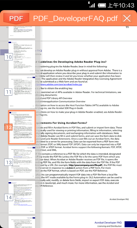 Kingsoft Office + PDF - FREE! - screenshot