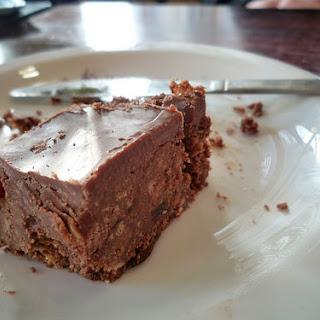 No-bake British Chocolate Tiffins
