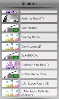 Screenshot of Italia Radio by Tunin.FM