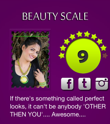 【免費娛樂App】Beauty Scale-APP點子