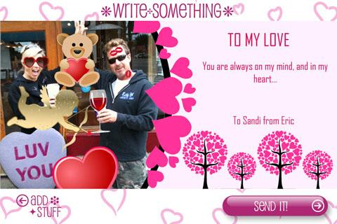 Build-A-Card: Cupid Edition - screenshot