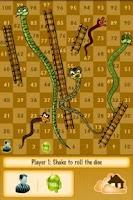 Screenshot of Snake and Ladder