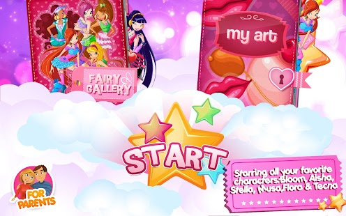 Winx –Club Fairy Artist!- screenshot thumbnail