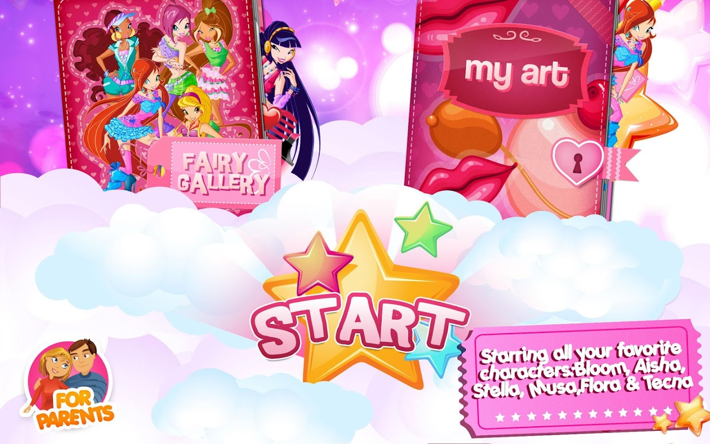 Winx –Club Fairy Artist! - screenshot